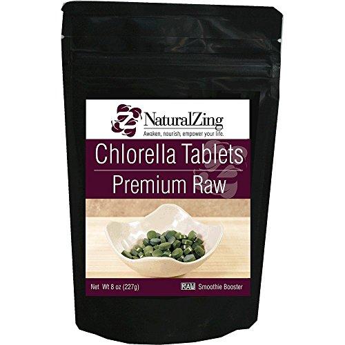Chlorella Tablets 900 8 oz Raw 250 mg