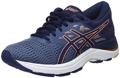 Asics 5 peacoat Blue 5630 Zapatillas De flux smoke Gel Para Running Multicolor Mujer canteloupe H4xr7HEq