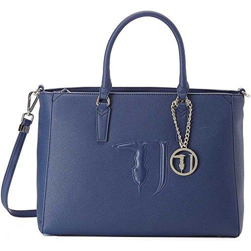 Para Azul Turquesa Trussardi De Bolso Mujer Asas UnvZx8
