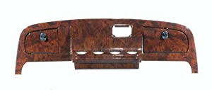 GMT Inc Simulated Dark Burled Woodgrain Full Golf Cart Dash to fit E-Z-Go TXT (Does not fit Current New Generation)