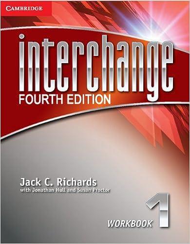 Interchange level 1 workbook interchange fourth edition jack c interchange level 1 workbook interchange fourth edition jack c richards jonathan hull susan proctor 9781107648722 amazon books fandeluxe Gallery