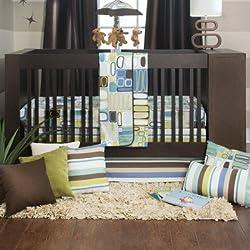 Glenna Jean Liam Boy's 3 Piece Baby Crib Bedding Set by Sweet Potato