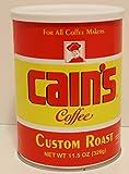 Cain's Custom Roast Coffee 11.5 Oz Can