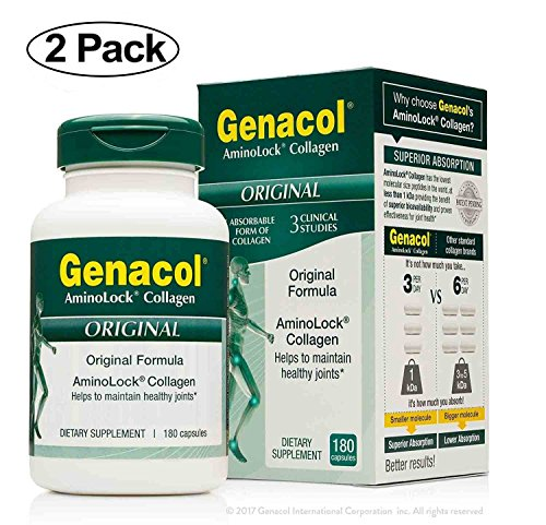 Cheap GENACOL BIO-Active Hydrolyzed Collagen Peptides (360 Capsules) Premium Collagen Hydrolysate Protein Joint Supplements for Men and Women | Grass-Fed, Pasture-Raised
