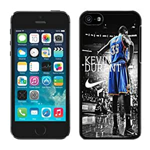 iPhone 5C Case ,Unique And Fashionable Designed Case With Oklahoma City Thunder Kevin Durant 3 Black For iPhone 5C Phone Case