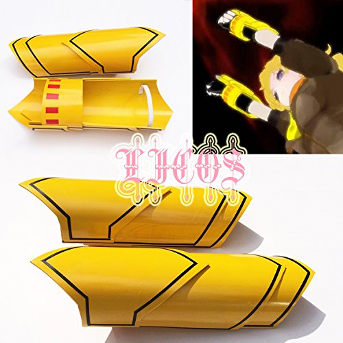 Price comparison product image RWBY yang xiao long yellow arm armors Cosplay Prop