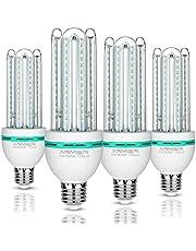 Bro.Light LED lampadine E27 20W(equivalente di lampadine alogene da 150W), Luce Bianca 6000K, 1700 lumen, 360 ° angolo del fascio, non dimmerabile, 4 - Pack