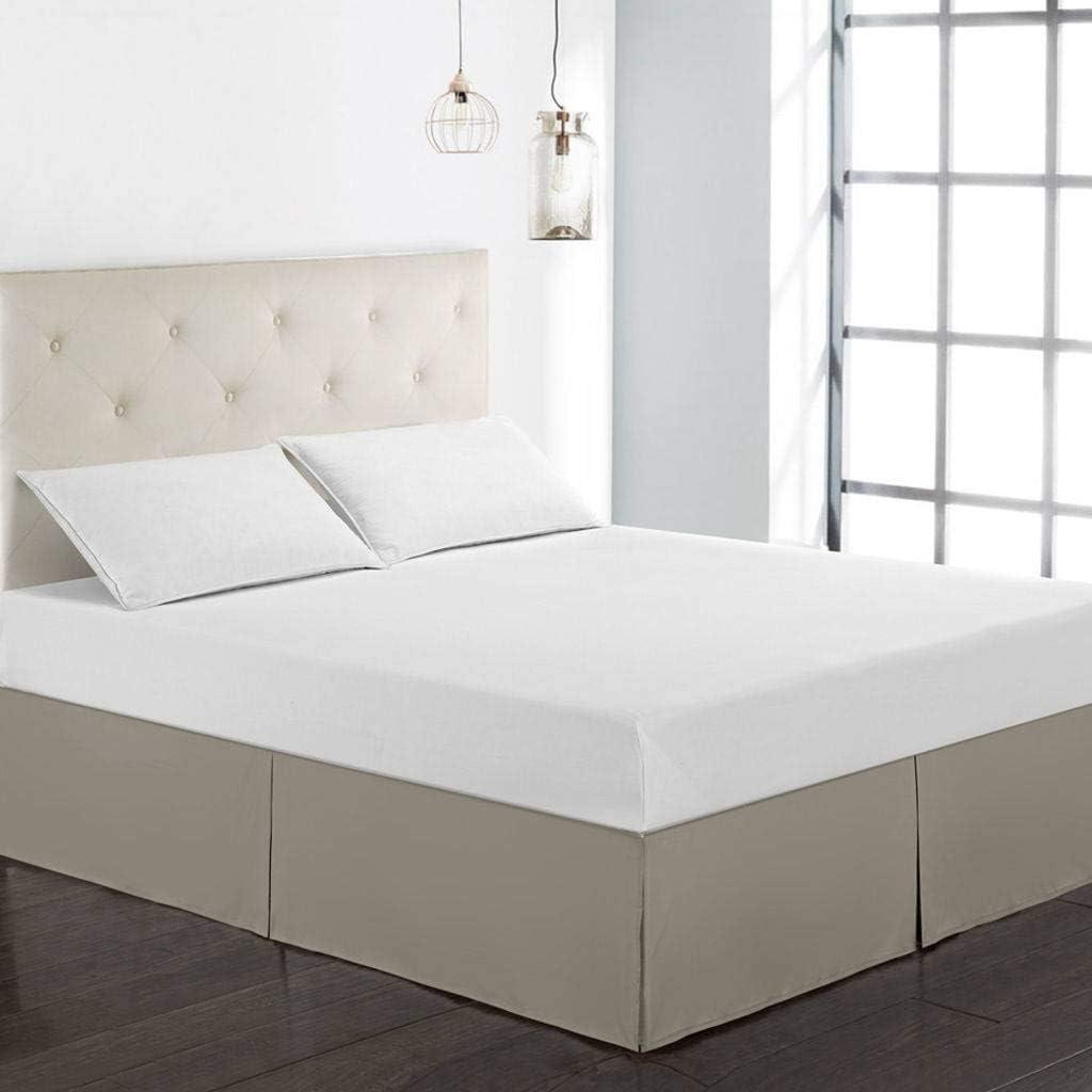 A prueba de polvo Falda de cama,Falda de cama elástica con ...
