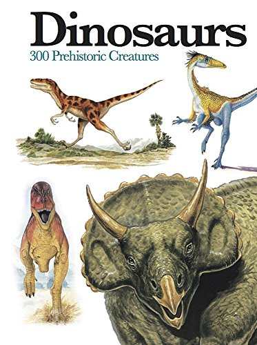 Dinosaurs: 300 Prehistoric Creatures (Mini Encyclopedia)