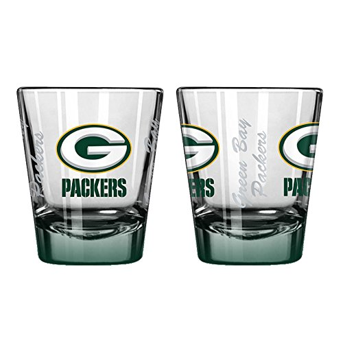 - NFL Green Bay Packers 2 oz Shot Glass