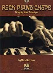 Harrison Mark Rock Piano Chops Pf Bk/Cd