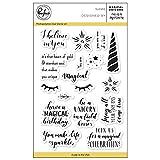 Pinkfresh Studio Magical Unicorn Clear Stamp Set