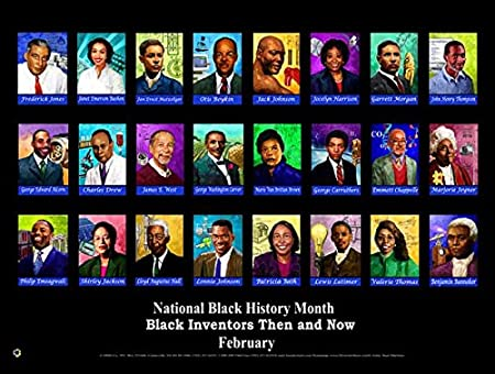 Workbook black history month biography worksheets : Amazon.com: Black Inventors Then and Now Poster 24x18 inches (BNV ...