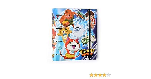 Grupo Erik Editores Carpeta 4 Anillas Troquelada Premium Yo-Kai Watch: Amazon.es: Oficina y papelería