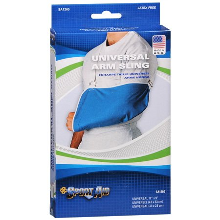 Universal Pouch Style Arm Sling - SA1260 - One Size - Adjustable - Sport Aid By Scott Specialties by Scott Specialties (Pouch Style Sling Baby)