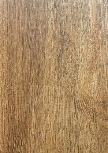 7 in. Width x 48 in. Length Gunstock Oak Vinyl Plank Flooring (28 sq. ft. / case) - Collection Gunstock