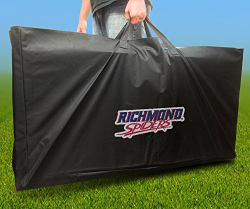 Officially Spider Licensed - RICHMOND SPIDERS Officially Licensed CORNHOLE Board CARRYING CASE Storage Carry Bag