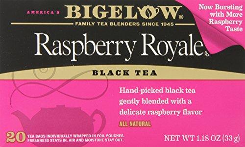 Bigelow Raspberry Royale Black Tea, 20-Count Boxes