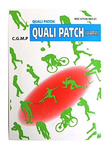 Quali Patch (Warm) Warming Patch Chronic Pain Relief 2 Sheets Per Pack