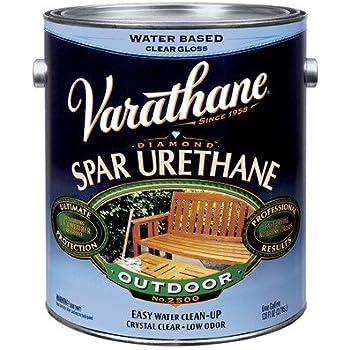 Varathane water based exterior spar varnish household varnishes for Varathane water based exterior polyurethane