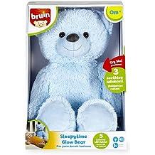 Bruin Baby Sleepytime Glow Bear - Blue