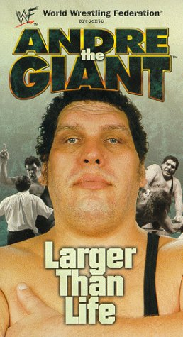 amazon co jp wwe andre the giant larger than life vhs