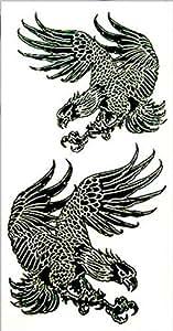 Waterproof 3D temporary tattoo Eagle