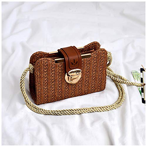 MENGMA para talla mochila Marrón única Bolso mujer rPw1xgrq6