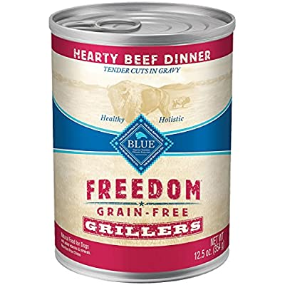 Blue Buffalo Freedom Grain Free Grillers - Beef -  12.5 Oz