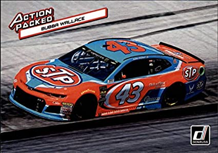 Richard Petty Motorsports >> Amazon Com 2019 Donruss Action Packed 5 Bubba Wallace Stp Richard