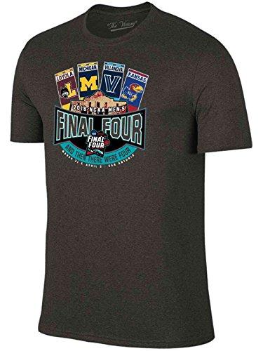 2018 NCAA Final Four March Madness Basketball Alamo Tickets T-Shirt (L)