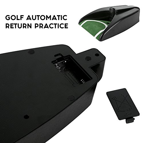 Sarissa Golf Automatic Putting Cup, Golf Ball Kick Back Automatic Return Putting Cup Device Practice Training Aid by Sarissa (Image #2)