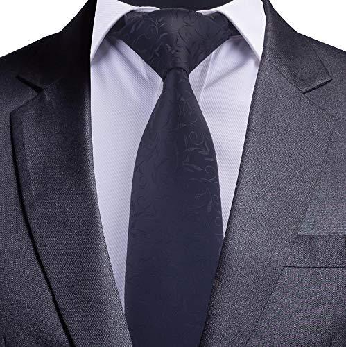 LLZGPZLD Corbata/Corbata A Rayas De 8 Cm para Hombres Corbata Azul ...