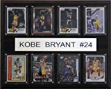 NBA Kobe Bryant Los Angeles Lakers 8 Card Plaque