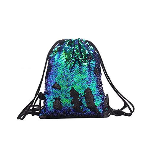 della decorazione capacità di Nero ragazza doppio ad leggero della borsa alta alla del argento libro alla moda all'aperto della colore immagazzinaggio di moda nero corrimano Sacchetto del viaggio di Verde UxqHAAd