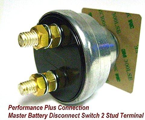 Waterproof Battery Kill Safety Shut Off Disconnect Switch 2 Pole