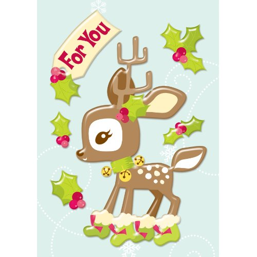 American Girl Crafts Reindeer Bubble Stickers -