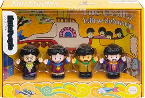 Fisher-Price The Beatles Yellow Submarine by Little People