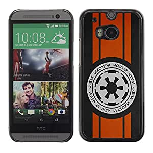 Impact Case Cover with Art Pattern Designs FOR HTC One M8 Space Writing Betty shop