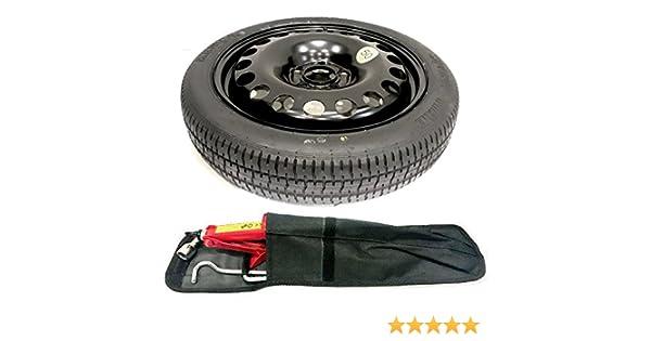 Kit para rueda de repuesto de Nissan Qashqai con herramientas de montaje: Amazon.es: Coche y moto