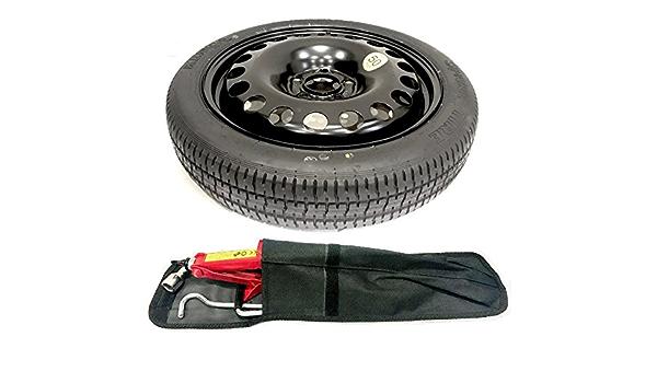 """BMW X3 E83 Ahorro De Espacio Rueda de Repuesto 18/"""" y Kit de herramientas y cubierta de bolsa 2004-2011"""