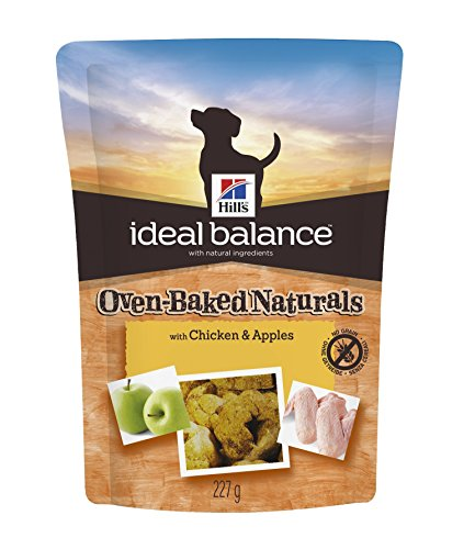 Hill's Ideal Balance Oven-Baked Naturals with Chicken & Apples Dog Treats, 8 oz bag