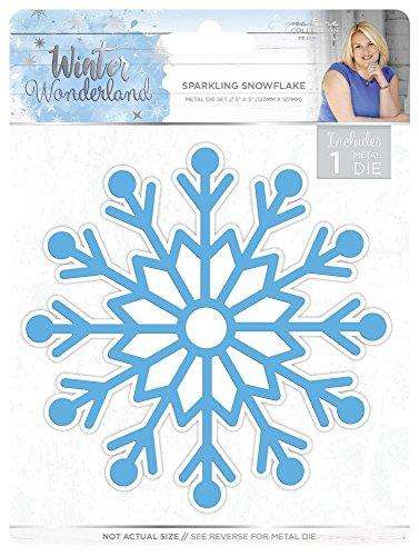 Sara Siganture S-WW-MD-SSF Sara Signature Winter Wonderland Sparkling Snowflake Thin Metal Die, Silver