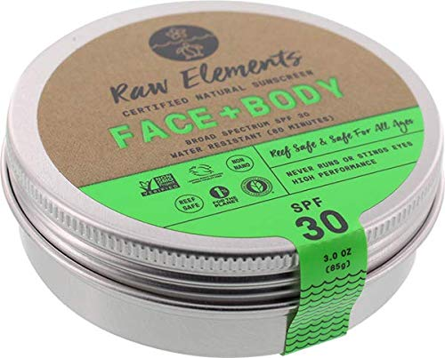 Raw Elements Eco Formula 30 Lotion Tin ()