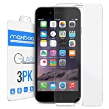 iPhone 6 Plus Screen Protector, Maxboost (3-Pack) Tempered Review and Comparison
