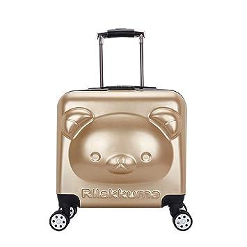 48bf897e993e BAG 3D cartoon 18 inch Children Rolling Luggage Kid Handbag Spinner ...