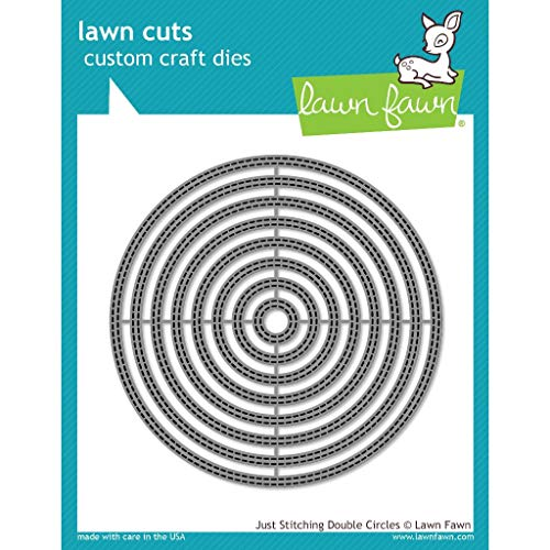 Lawn Fawn Just Stitching Double Circles Die (LF2066)
