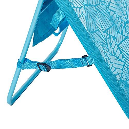 Lightspeed Outdoors 2 Pack Lounger Park and Beach Chair (Aquamarine)