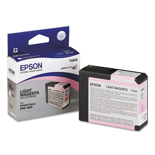 Epson T5806 UltraChrome K3 Light Magenta Cartridge Ink