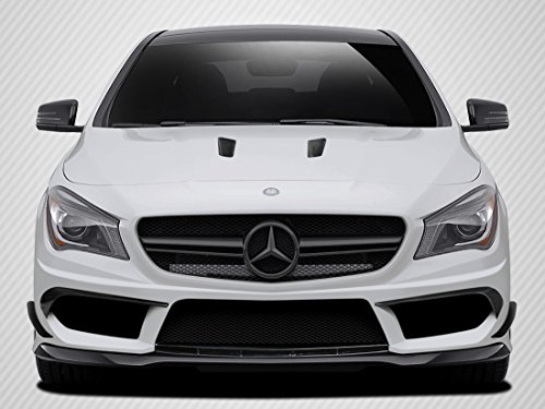 Carbon Creations Replacement for 2014-2015 Mercedes CLA Class Black Series Look Front Bumper Accessories - 4 Piece by Carbon Creations (Image #10)